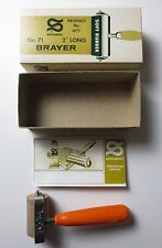 Vintage Speedball No. 71 Soft Rubber Brayer 2 inches Long No. 4171 (PG349)