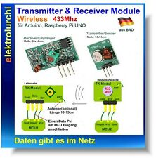 Funk Sender Empfänger Modul 433Mhz Wireless Transmitter + Receiver Arduino