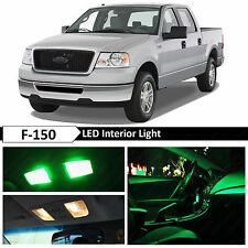 15x Green Interior LED Lights Package Kit for 2004-2008 Ford F-150 F150 + TOOL