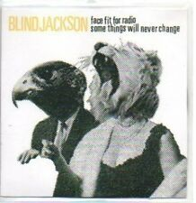 (477H) Blind Jackson, Face Fit for Radio - DJ CD