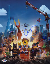 THE LEGO MOVIE CAST MULTI  SIGNED 11x14 Photo +4 FULL LETTER PSA/DNA AUTOGRAPHED
