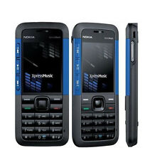 New Nokia XpressMusic 5310 Blue Unlocked Camera Bluetooth Mobile Phone Bar Phone