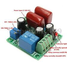 Cycle Timer Switch AC 110V Relay Delay ON/OFF Repeat 1-20s Adjustable Module