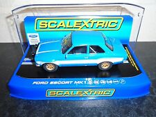 "Scalextric C3592 Ford Escort Mk1  lights/DPR fabulous m/b ""fastnfurious"" racer"