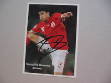 TRANQUILLO BARNETTA (SCHWEIZ) signed Photo 10x14
