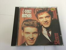 The Everly Brothers Bye Bye Love CD RARE 16 TRK