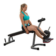 Leg Extension Curl Machine Powerline PLCE165X Home Gym Weight Workout Equipment