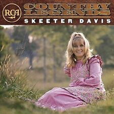 Skeeter Davis - RCA Country Legends CD NEW!
