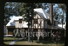 1940s kodachrome photo slide House exterior Dutch Boy Paint collection #3