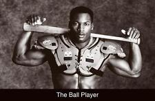 BO JACKSON THE BALL PLAYER  BASEBALL FOOTBALL POSTER PRINT NEW 36x24 FREE SHIP