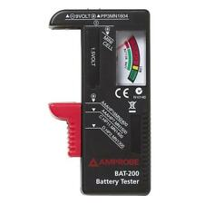 New Indicator Universal Battery Cell Tester AA AAA C/D 9V Volt Button Checker Y4