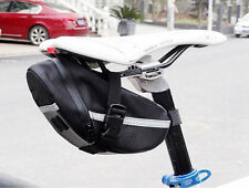 Outdoor MTB Road Bike Bicycle Cycling Saddle Bag Tail Rear Pouch Seat Storage