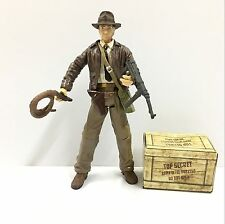 "Hot Toy 3.75"" Indiana Jones LAST CRUSADE Figure In Box Xmas Gifts"