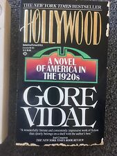 Hollywood A Novel of American in the 1920's by Gore Vidal PB Book Free Shipping