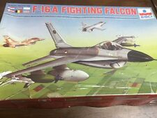 Esci 1/72 9026 f-16a Fighting Falcon kit modelo de avión Vintage Sellado