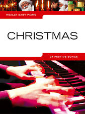 CHRISTMAS Really Easy Piano 24 POP Songs Music Book