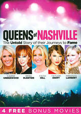 Queens of Nashville DVD Dolly Parton Taylor Swift Faith Hill Brand New Sealed