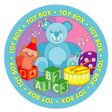 "8 Toy Box Teddy Bear Baby Shower Birthday Party 9"" Disposable Paper Plates"
