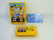 BOMBERMAN II 2 Bomber Man Famicom NES Nintendo Japan Boxed Game fc