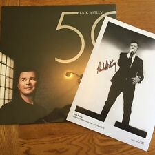 RICK ASTLEY - 50 - VINYL LP - SIGNED PICTURE EDITION - SUPER RARE / SOLD OUT