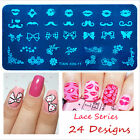 Fashion Multi-Design Nail Art Image Stamp Stamping Plates Manicure Template DIY