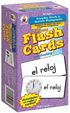 Everyday Words in Spanish: Photographic Flash Cards: Palabras de Todos Los Dias