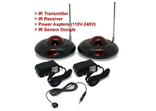 Wireless IR Remote Extender Kit For Home A/V Device Control
