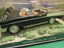 JAMES BOND CARS COLLECTION CHEVROLET BEL AIR DR NO