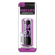 MAYBELLINE BABY LIPS MOISTURISING LIP BALM BERRY BOMB # 80 NEW & SEALED ON CARD
