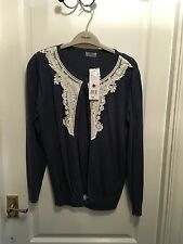 Tesco F&F blue cardigan