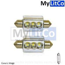 Car Rear License Number Plate Light Lamp LED Bulb 12V 239 C5W Xenon White Canbus