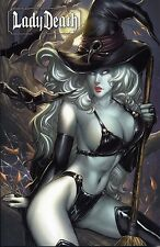LADY DEATH TPB #3 VARIANT (deutsch)  NEI RUFFINO   lim.66 Ex.  COMIC ACTION 2013