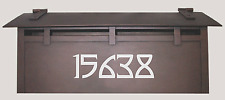 Safety Reflective House Numbers - CUSTOM NUMBERS - Super Bright and Safe