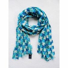 NWT Tommy Hilfiger Women's Blue/White Pattern Scarf