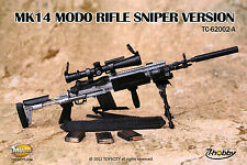 1:6 scale TOYS CITY TC62002A MK14 MOD 0 SNIPER RIFLE SLIVER in stock