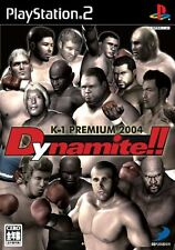 Used PS2 K-1 Premium 2004 Dynamite The Fighting Festival Japan Import