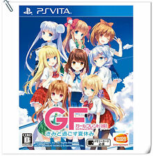PSV Girl Friend Beta Kimi to Sugosu SONY VITA Bandai Namco Adventure Games
