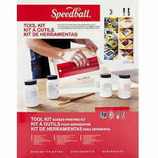 Speedball Fabric Screen Printing Tool Kit Starter Pack Frame Squeegee Diazo