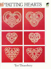 TATTING HEARTS  ~  TATTING BOOK  ~ soft cover book ~ 32 pages long ~ DOVER