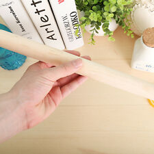 Wood Wooden Rolling Pin Fondant Cake Decorating Dough Rollers Baking Tools TO