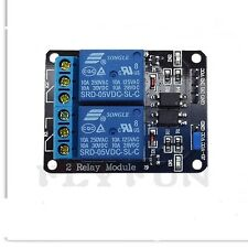 12V 10A 2 Channel Relay Module Shield for Arduino ARM PIC AVR Max 250V 10A AC