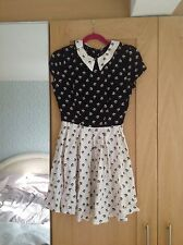 topshop dress peter pan collar TOPSHOP UK 8