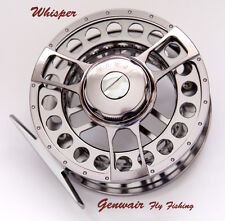 Fly Reel Ex Display Genwair Whisper Bar Stock Fly Reel LW 7/9