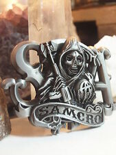 SAMCRO - SONS OF ANARCHY BELT BUCKLE - REAPER - AUSSIE STOCK
