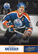 2013-14 PANINI ABSOLUTE BOXING DAY MARK MESSIER RETIRED THICK #7 13-14