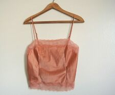 Vintage YVES SAINT LAURENT Lingerie CAMISOLE Cami Shell - Sz: 32 YSL Sissy