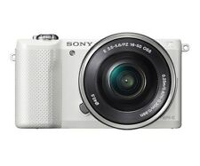 Sony A5000 Mirroless Digital Camera White Kit Selp1650 16-50mm Lens