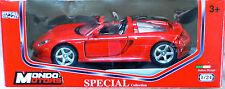 Mondo Motors: Porsche Carrera GT, 1/24, NEU & OVP, ungeöffnet, sehr selten