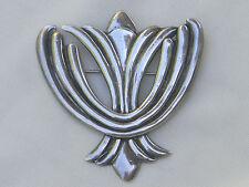 Vintage Los Castillo Sterling Silver Mexican Taxco Brooch/Pin c.1942 - 1948