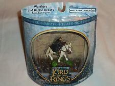 LOTR - MERRY in ROHAN ARMOR on PONY- Warriors & Battle Beasts Figures -MIB